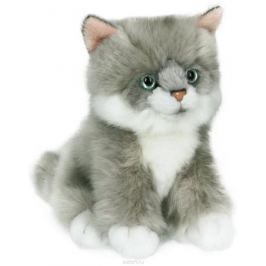 Anna Club Plush Котёнок сибирский серый, сидит 15 см