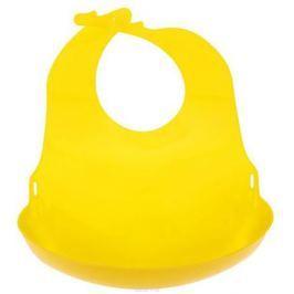 Lubby Нагрудник с отворотом от 6 месяцев цвет желтый