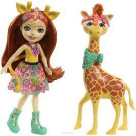 Enchantimals Игровой набор с куклой Gillian Giraffe & Pawl