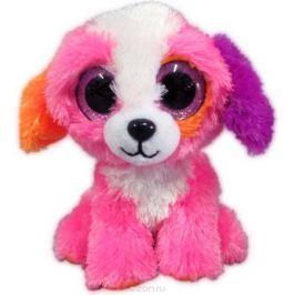 Teddy Мягкая игрушка Собачка цвет розовый 15 см