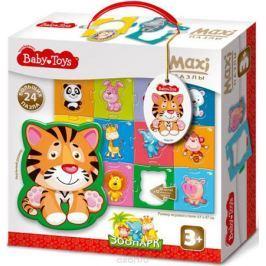Baby Toys Пазл для малышей Maxi Зоопарк
