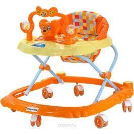 Everflo Ходунки Мышонок W403 цвет оранжевый