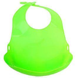 Lubby Нагрудник с отворотом от 6 месяцев цвет зеленый