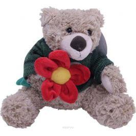 Magic Bear Toys Мягкая игрушка Мишка Тед в свитере c цветком 20 см