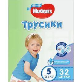 Huggies Подгузники-трусики для мальчиков 13-17 кг (размер 5) 32 шт