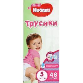 Huggies Подгузники-трусики для девочек 13-17 кг (размер 5) 48 шт