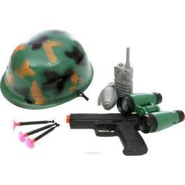Tongde Сюжетно-ролевые игрушки Набор военный с каской в сетке 0905A