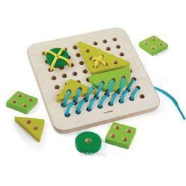 Plan Toys Набор со шнуровкой Планшет Обучение и развитие