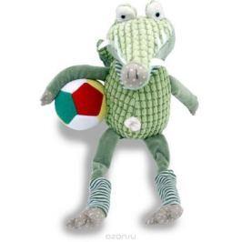 Magic Bear Toys Мягкая игрушка Зеленый крокодил Рэнди c мячом Мягкие игрушки