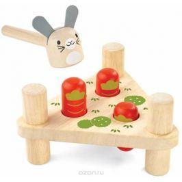 Plan Toys Забивалка Зайчик и морковки Обучение и развитие