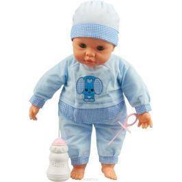 Falca Пупс озвученный с аксессуарами цвет голубой 38 см Куклы и аксессуары