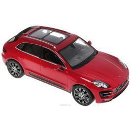 Rastar Радиоуправляемая модель Porsche Macan цвет красный Машинки