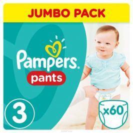 Pampers Pants Трусики 6-11 кг (размер 3) 60 шт