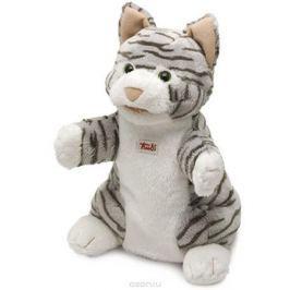 Trudi Мягкая игрушка на руку Кошка полосатая 25 см Мягкие игрушки
