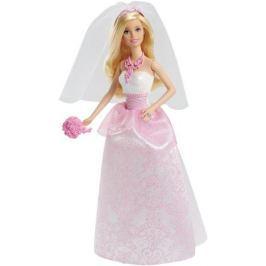 Barbie Кукла Сказочная невеста цвет платья розовый белый
