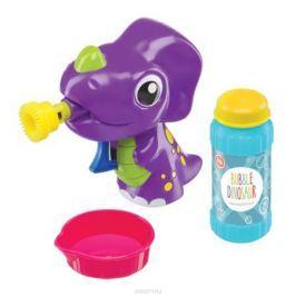Happy Baby Набор для пускания мыльных пузырей Bubble Dinosaur Мыльные пузыри