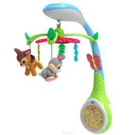 Chicco Игрушка-проектор для кроватки Бемби Мобили и развивающие дуги