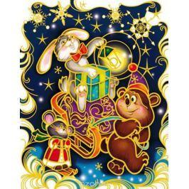 Украшение новогоднее оконное Magic Time