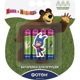 Фотон Элемент питания LR03 ВP4 Маша и Медведь + наклейка