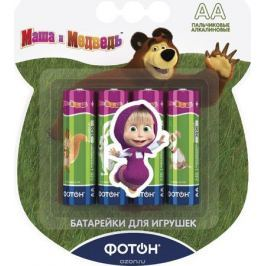 Фотон Элемент питания LR6 ВP4 Маша и Медведь + наклейка