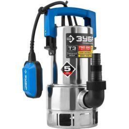 Насос погружной ЗУБР Профессионал НПГ-Т3-750-С, дренажный, для грязной воды