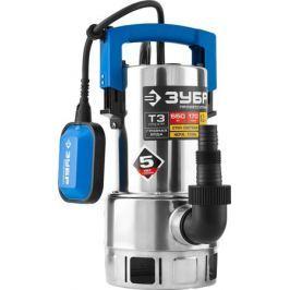Насос погружной ЗУБР Профессионал НПГ-Т3-550-С, дренажный, для грязной воды