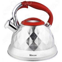 Чайник со свистком Mercury MC-6586