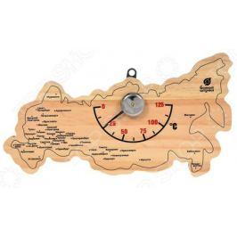 Термометр для бани и сауны Банные штучки «Карта России»