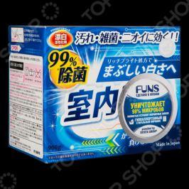 Порошок стиральный FUNS «Синий бриллиант» для чистоты вещей и сушки белья в помещении