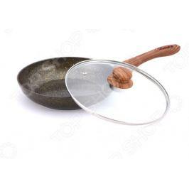 Сковорода с крышкой Bekker Garnet