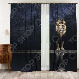 Фотошторы ТамиТекс «Стихия льва»