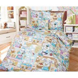 Детский комплект постельного белья Бамбино «Зайкин город» 1708548