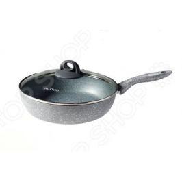 Сотейник с крышкой Scovo Stone Pan