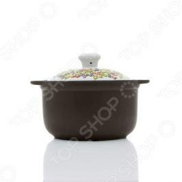 Кастрюля керамическая с крышкой Едим Дома Narino «Венето»