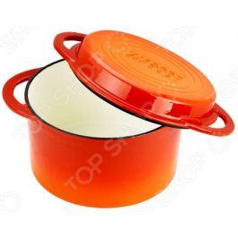 Кастрюля с крышкой-сковородой Vitesse Ferro