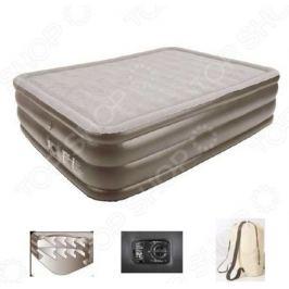 Кровать надувная со встроенным электронасосом Relax Air bed with memory foam