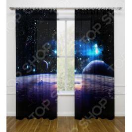 Фотошторы Стильный дом «Космическое пространство»