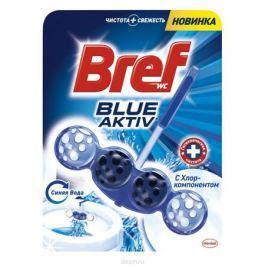 Чистящее средство для унитаза Bref Blue-Aktiv с Хлор-компонентом 50г Бытовая химия