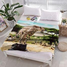 Плед флисовый ТамиТекс «Дикая кошка»