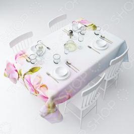 Скатерть Сирень «Розовые бутоны»