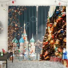 Фотошторы «Кремлевская елка»
