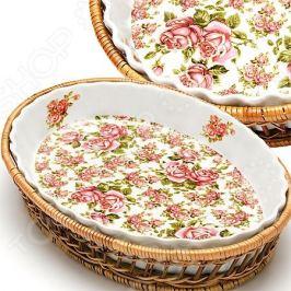 Форма для запекания керамическая Mayer&Boch «Утренняя роза
