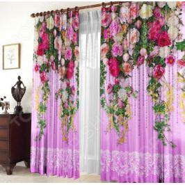 Комплект штор «Цветочная лоза»