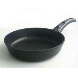 Сковорода Нева Металл Посуда, с антипригарным покрытием, цвет: черный. Диаметр 28 см