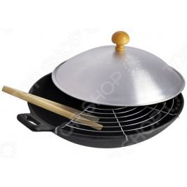 Сковорода-вок с крышкой Regent Ferro