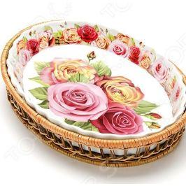 Форма для запекания керамическая Mayer&Boch «Утренняя роза»