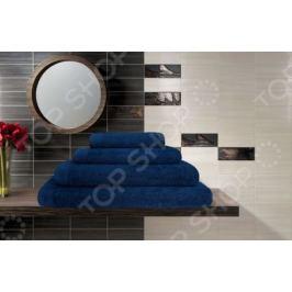 Полотенце махровое Guten Morgen. Цвет: темно-синий