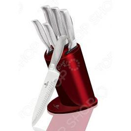 Набор ножей Berlinger Haus Kikoza 6. Цвет: красный