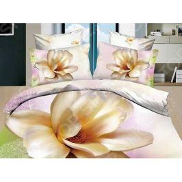 Комплект постельного белья с эффектом 3D «Лилия». 1,5-спальный