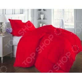 Одеяло «Люкс». Цвет: красный